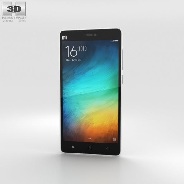 Xiaomi Mi 4i White - 3DOcean Item for Sale