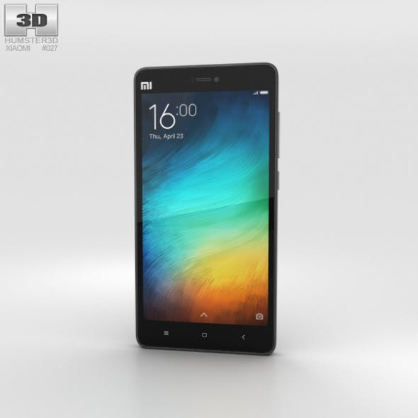 Xiaomi Mi 4i Black - 3DOcean Item for Sale