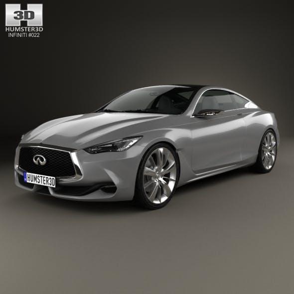 Infiniti Q60 Concept 2014 - 3DOcean Item for Sale