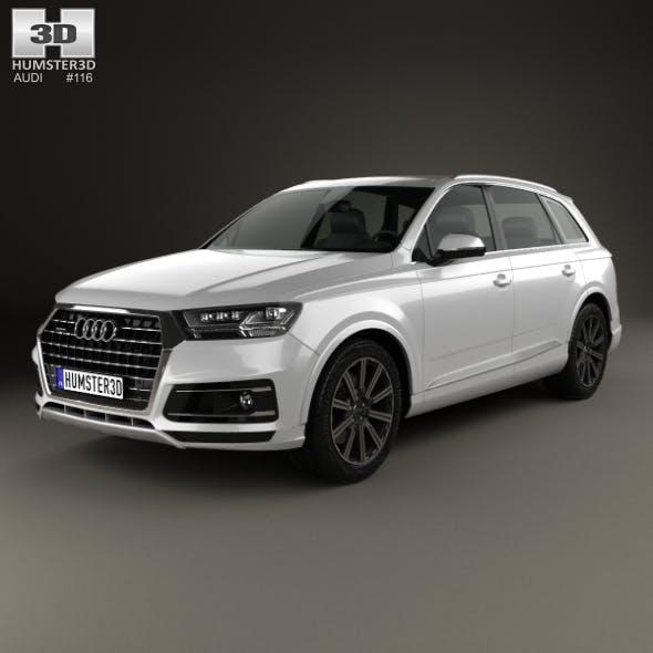 Audi Q7 2016 - 3DOcean Item for Sale