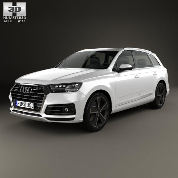 Audi Q7 e-tron 2017 - 3DOcean Item for Sale