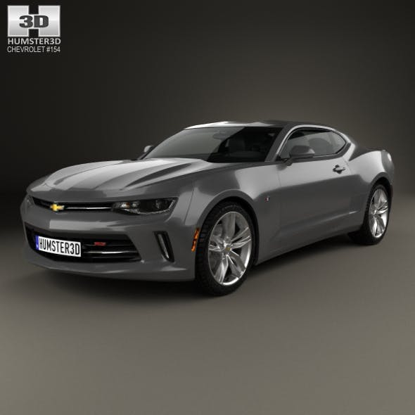 Chevrolet Camaro RS coupe 2016 - 3DOcean Item for Sale