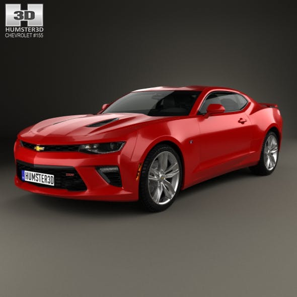Chevrolet Camaro SS coupe 2016 - 3DOcean Item for Sale