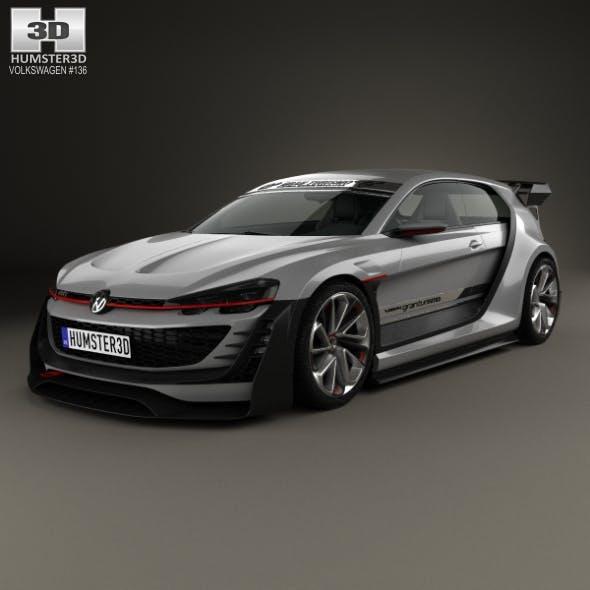 Volkswagen GTI Supersport Vision Gran Turismo 2014 - 3DOcean Item for Sale