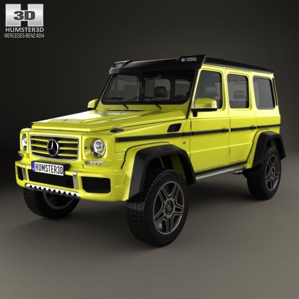 Mercedes-Benz G-Class 4×4-2 2015 - 3DOcean Item for Sale
