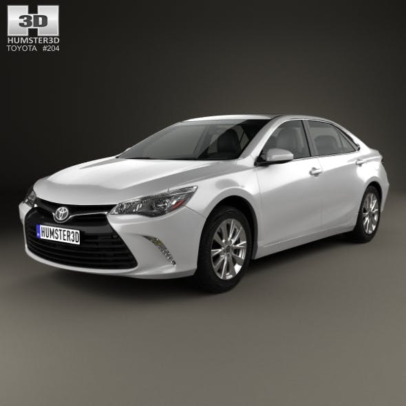 Toyota Camry XLE 2015 - 3DOcean Item for Sale
