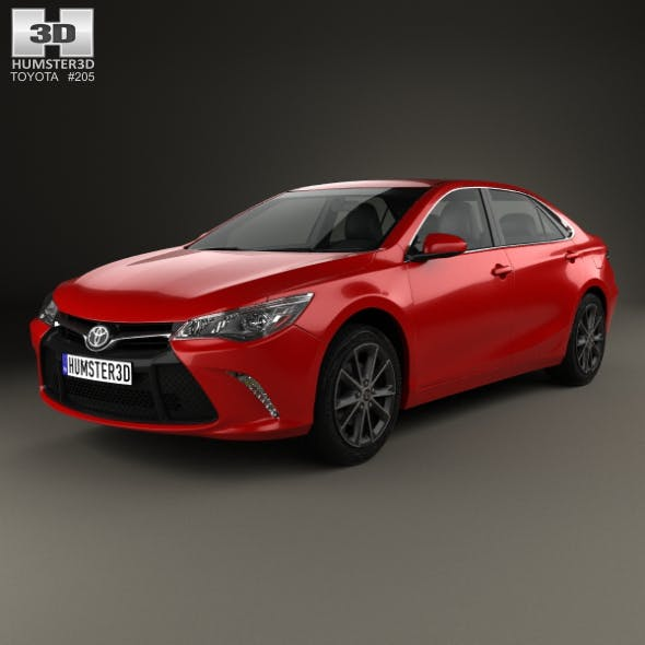 Toyota Camry XSE 2015 - 3DOcean Item for Sale