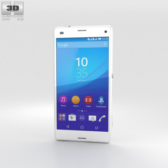 Sony Xperia A4 SO-04G White - 3DOcean Item for Sale