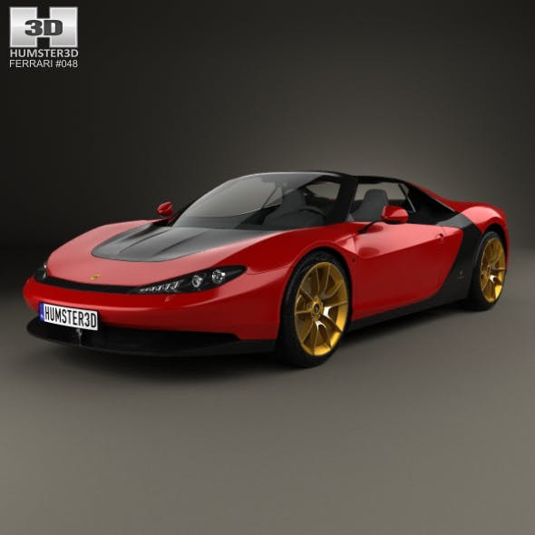 Ferrari Sergio 2014 - 3DOcean Item for Sale