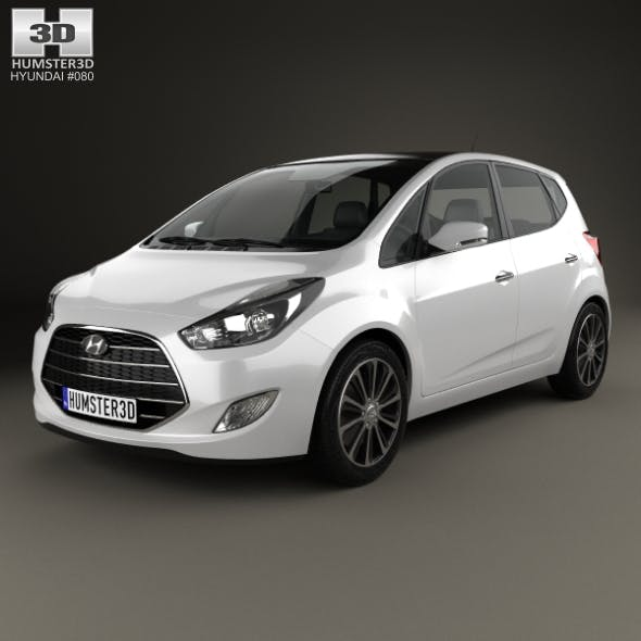 Hyundai ix20 2015 - 3DOcean Item for Sale
