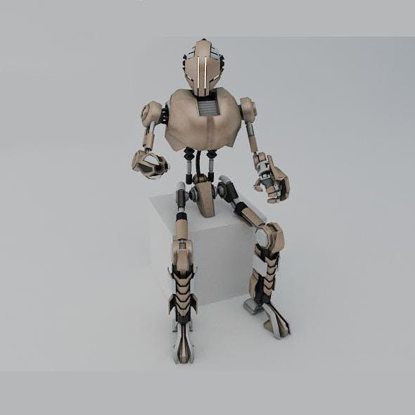 Robot TR200 - 3DOcean Item for Sale