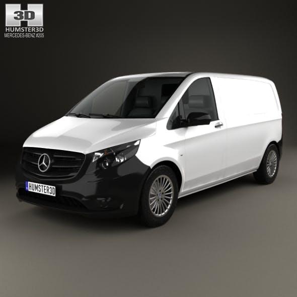 Mercedes-Benz Vito (W447) Panel Van L1 2014 - 3DOcean Item for Sale