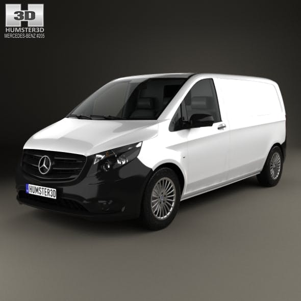 Mercedes-Benz Vito (W447) Panel Van L1 2014