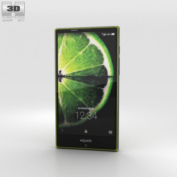 Sharp Aquos Serie SHV32 Green