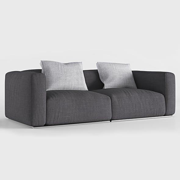 Vray Ready Poliform Sofa - 3DOcean Item for Sale