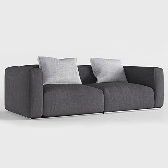 Vray Ready Poliform Sofa