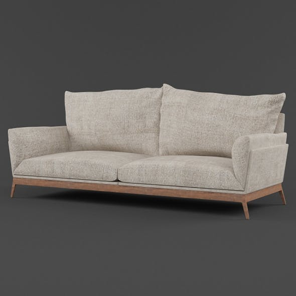 Vray Ready Modern Luxury Sofa