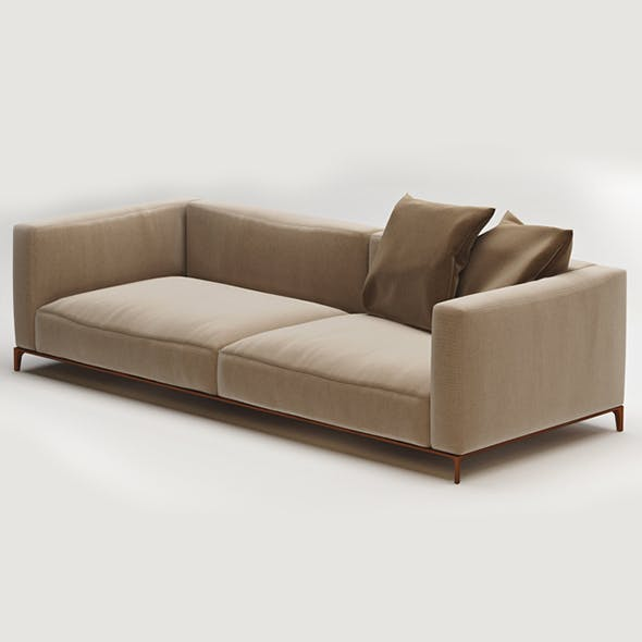 Vray Ready Luxury Sofa - 3DOcean Item for Sale