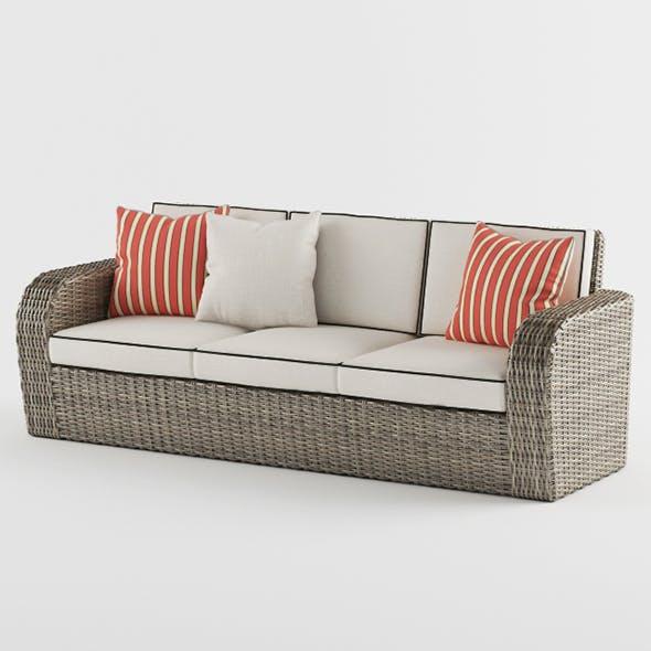 Vray Ready Luxury Modern Sofa - 3DOcean Item for Sale