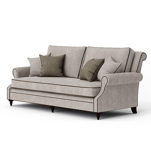 Vray Ready Luxury Royal Sofa
