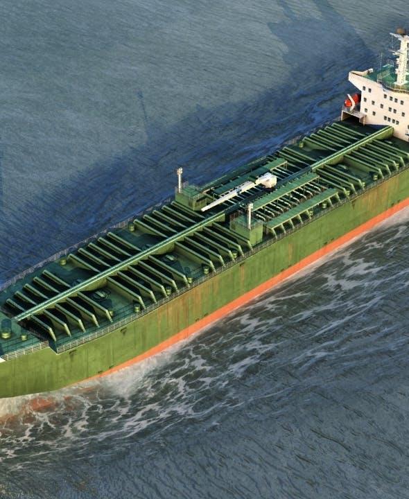 Oil Tanker Vessel - 3DOcean Item for Sale