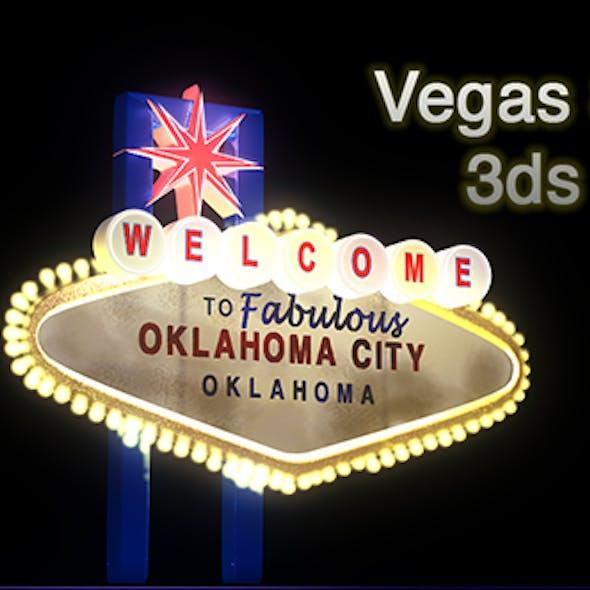Las Vegas Inspired Sign