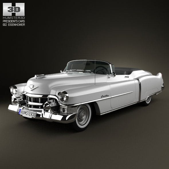 Cadillac Eldorado Convertible 1953 - 3DOcean Item for Sale