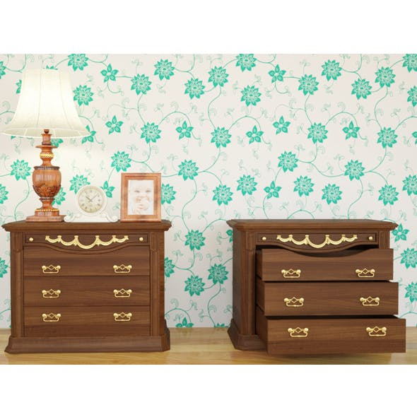 Chest Of Drawer - 3DOcean Item for Sale