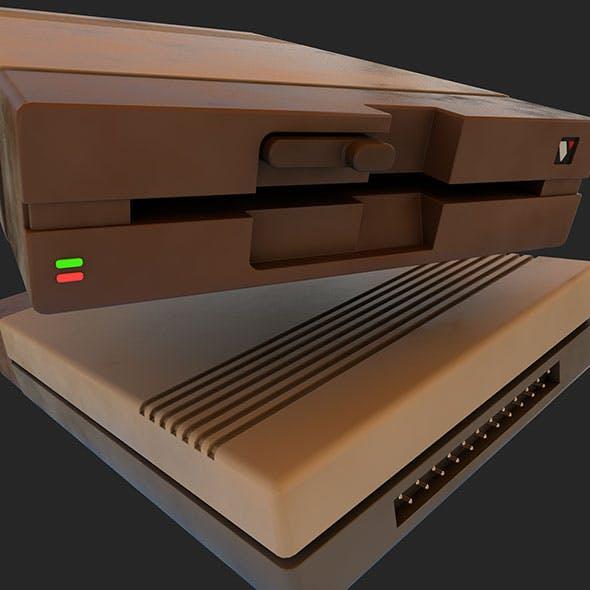 Retro Disk Reader - 3DOcean Item for Sale