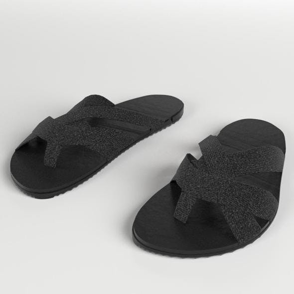 Sandals Slippers 3 - 3DOcean Item for Sale