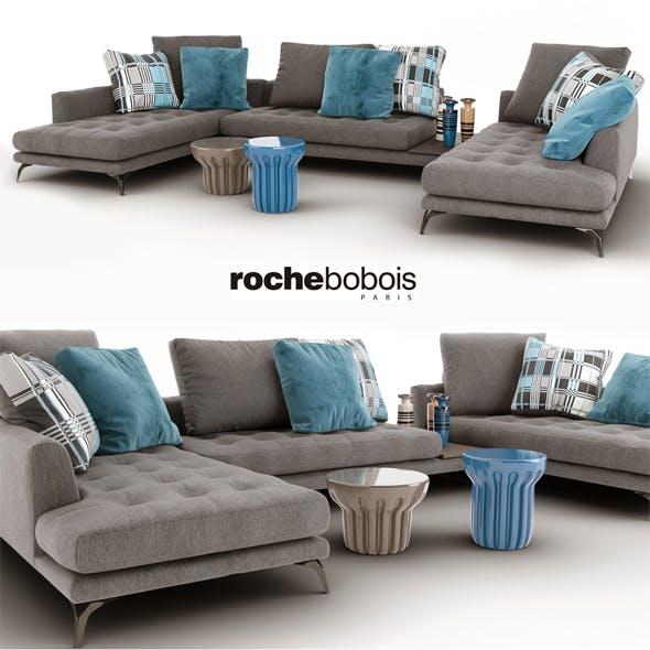 Sofa Symbole composition Roche Bobois