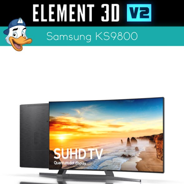 Samsung KS9800 for Element 3D