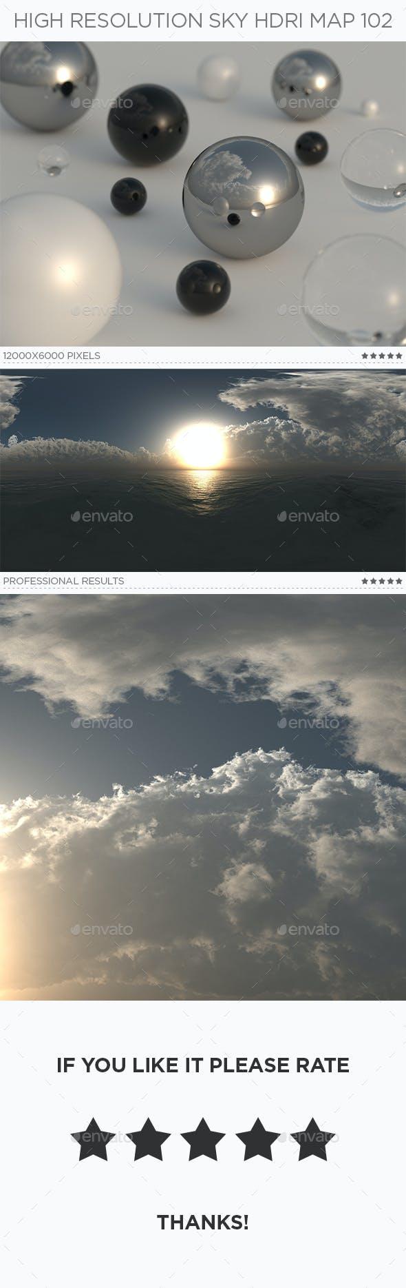 High Resolution Sky HDRi Map 102 - 3DOcean Item for Sale