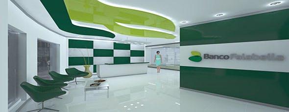 INTERIOR RECEPCION OFICINA - 3DOcean Item for Sale