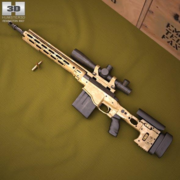 Remington MSR - 3DOcean Item for Sale