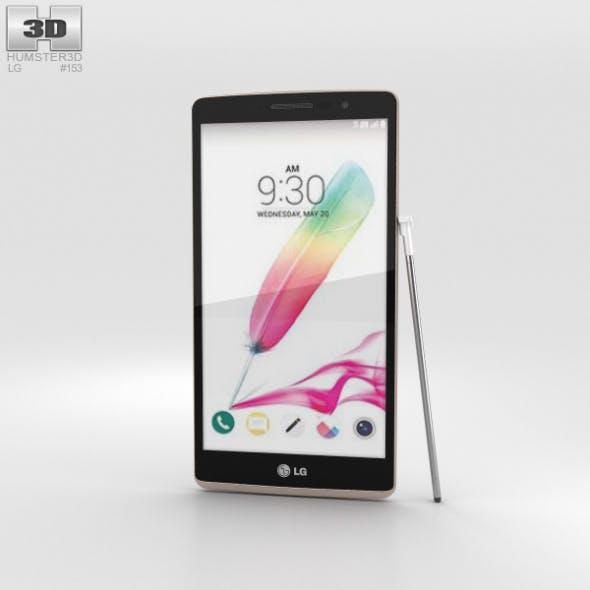 LG G Stylo White - 3DOcean Item for Sale
