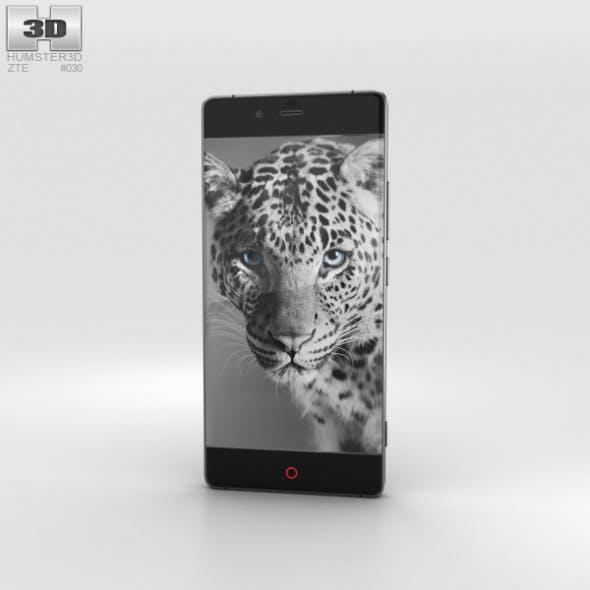 ZTE Nubia Z9 Black - 3DOcean Item for Sale