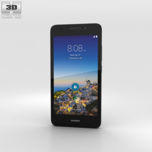 Huawei SnapTo Black - 3DOcean Item for Sale