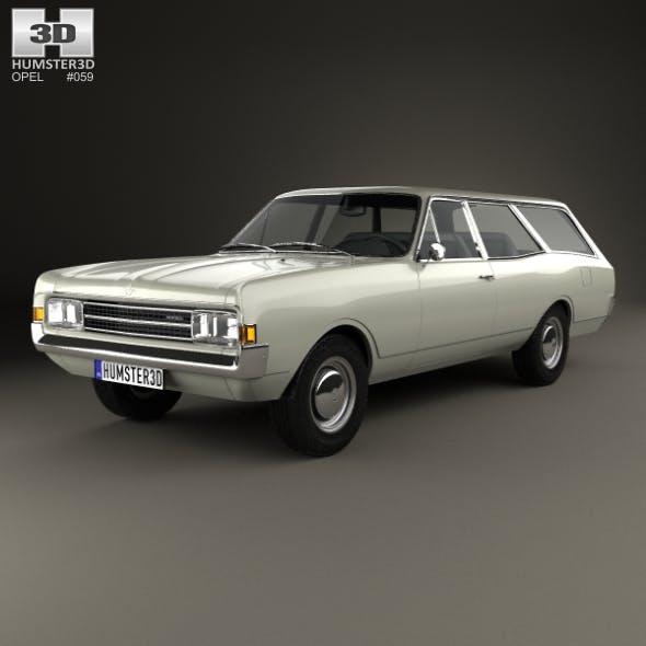 Opel Rekord (C) Caravan 1967 - 3DOcean Item for Sale