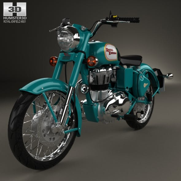 Royal Enfield Bullet C5 Classic 2014 - 3DOcean Item for Sale
