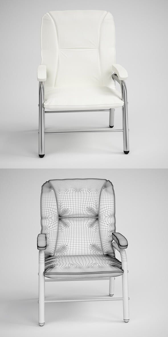 CGAxis Photorealistic Armchair 03 - 3DOcean Item for Sale