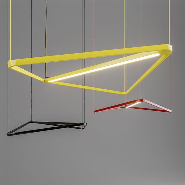 Lamp Kite Naked Estel group - 3DOcean Item for Sale