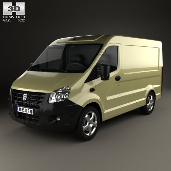 GAZ Sobol Next Panel Van 2013 - 3DOcean Item for Sale