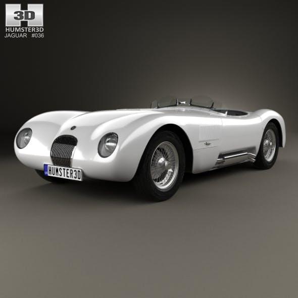 Jaguar C-Type 1951 - 3DOcean Item for Sale