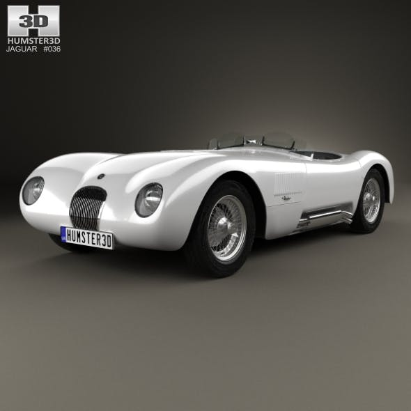 Jaguar C-Type 1951