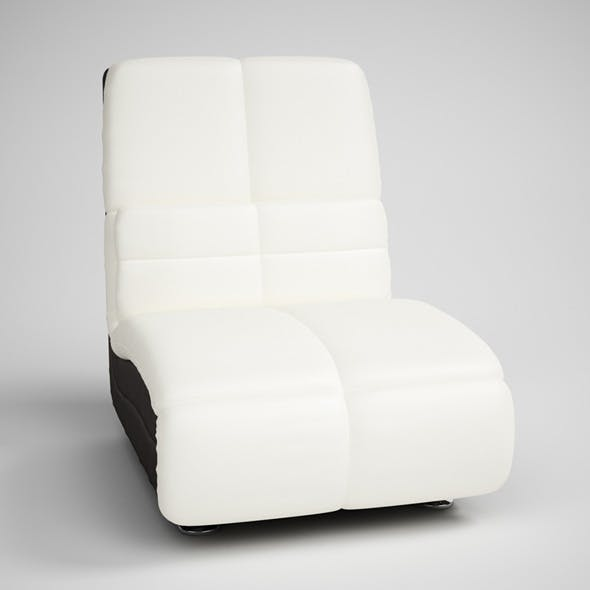 CGAxis Modern Armless Chair 14
