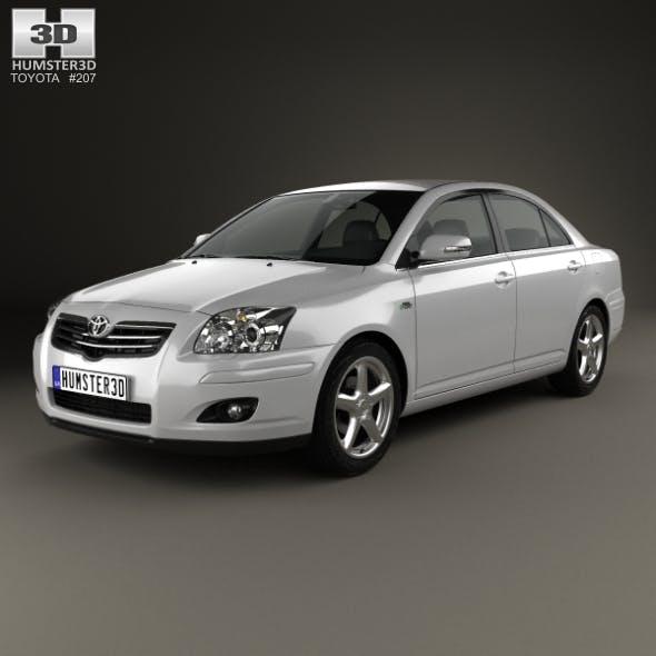 Toyota Avensis sedan 2006 - 3DOcean Item for Sale