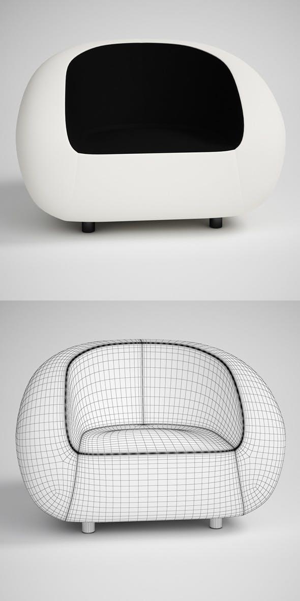 CGAxis Modern Armchair 18 - 3DOcean Item for Sale