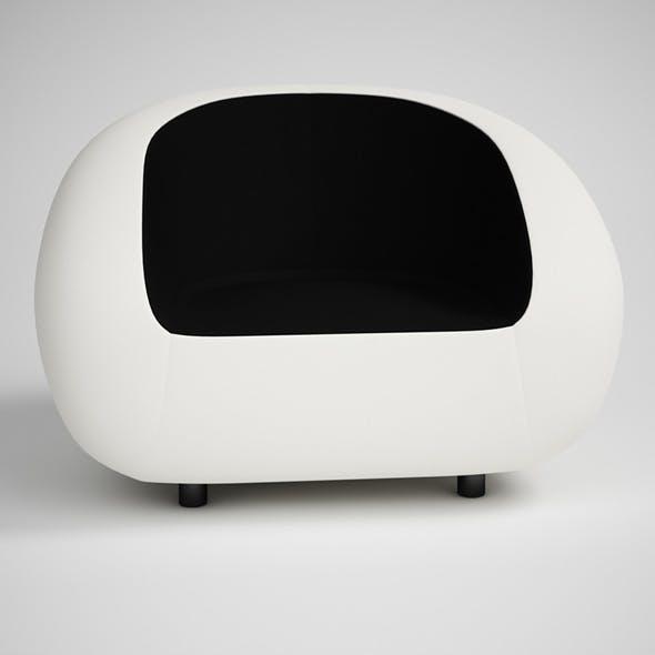 CGAxis Modern Armchair 18