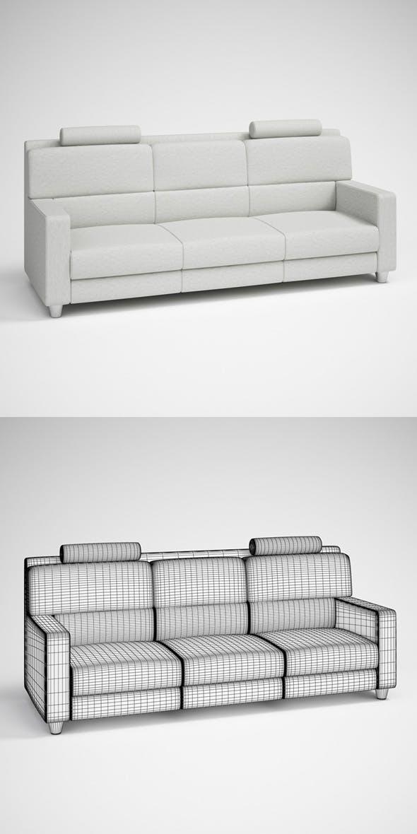 CGAxis Modern Sofa 25 - 3DOcean Item for Sale